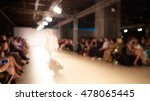 fashion runway out of focus.... | Shutterstock . vector #478065445