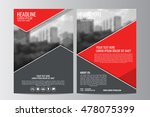 abstract flyer design... | Shutterstock .eps vector #478075399