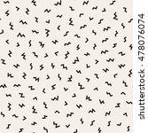 vector seamless black and white ... | Shutterstock .eps vector #478076074