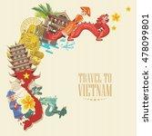 travel to vietnam. set of...