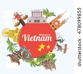 travel to vietnam. set of...