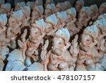 hindu god ganesha. ganesha... | Shutterstock . vector #478107157