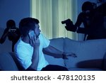 armed thieves entering a house... | Shutterstock . vector #478120135