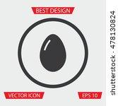 egg icon   Shutterstock .eps vector #478130824