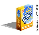 breakfast cereals box icon...   Shutterstock .eps vector #478137541