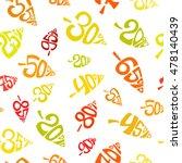 autumnal discount. seamless... | Shutterstock .eps vector #478140439