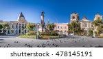 plaza murillo  bolivian palace... | Shutterstock . vector #478145191