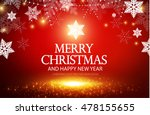 shining christmas background.... | Shutterstock .eps vector #478155655