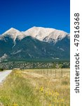 colorado rocky mountains and a... | Shutterstock . vector #47816368