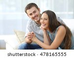 happy marriage posing and... | Shutterstock . vector #478165555
