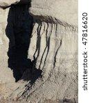 Southwest Desert Badlands Rock...
