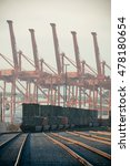 seattle  wa   aug 14  crane... | Shutterstock . vector #478180654