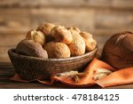 bread and lots of fresh bread...   Shutterstock . vector #478184125