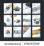 brochure template layout  cover ... | Shutterstock .eps vector #478192549