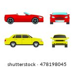car sedan vehicle transport...   Shutterstock .eps vector #478198045