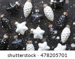 Black And White Christmas Tree...