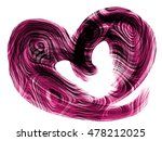 purple heart lovely grunge... | Shutterstock . vector #478212025