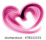 purple heart lovely grunge... | Shutterstock . vector #478212151