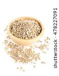 natural shelled sunflower seeds ... | Shutterstock . vector #478227091