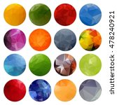 multicolored bright abstract... | Shutterstock .eps vector #478240921