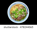 A Bowl Of Beef Noodles Bowl Of...