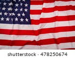 flag of united states of america | Shutterstock . vector #478250674