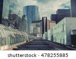 modern business district.... | Shutterstock . vector #478255885