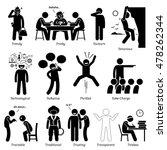 neutral personalities character ... | Shutterstock .eps vector #478262344