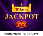 jackpot background for online... | Shutterstock .eps vector #478270195