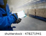 closeup shooting hand of worker ... | Shutterstock . vector #478271941