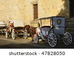 Horse Drawn Carriages Waiting...