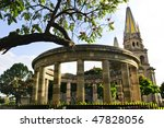 rotonda de los jalisciences... | Shutterstock . vector #47828056