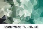 abstract rainbow color triangle ... | Shutterstock .eps vector #478287631