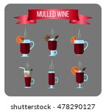 set flat icons of different... | Shutterstock .eps vector #478290127