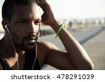 serious and self determined... | Shutterstock . vector #478291039