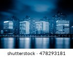 river and modern buildings... | Shutterstock . vector #478293181
