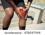 cropped shot of legs of african ... | Shutterstock . vector #478297549