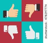 Thumbs Up Like Dislike Icons...