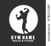 gym logo. fitness energy logo.... | Shutterstock .eps vector #478311289