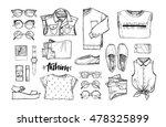 hand drawn vector illustration  ... | Shutterstock .eps vector #478325899