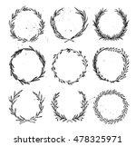 hand drawn vector illustration  ... | Shutterstock .eps vector #478325971