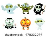 set of vintage character for... | Shutterstock .eps vector #478332079