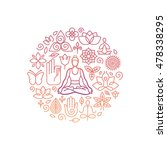 vector logo design template in...   Shutterstock .eps vector #478338295