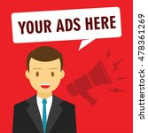 your ads here advertising... | Shutterstock .eps vector #478361269