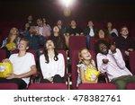 audience in cinema watching... | Shutterstock . vector #478382761