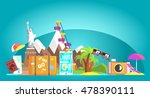travelling attributes... | Shutterstock .eps vector #478390111