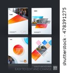 brochure template layout  cover ... | Shutterstock .eps vector #478391275