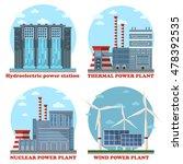 plant or factory energy... | Shutterstock .eps vector #478392535