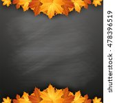 autumn background with autumn... | Shutterstock .eps vector #478396519