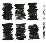 black grungy vector abstract...   Shutterstock .eps vector #478397011